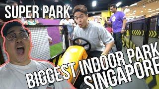 LARGEST INDOOR PARK IN SINGAPORE - Super Park