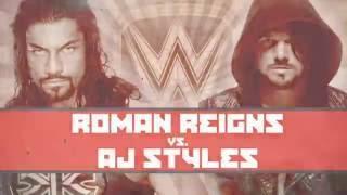 WWE Extreme Rules 2016 Roman Reigns vs AJ Styles Promo