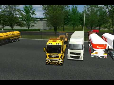 Euro Truck Simulator MAN TGX 8X4 Wheel Loader USSR Pt1