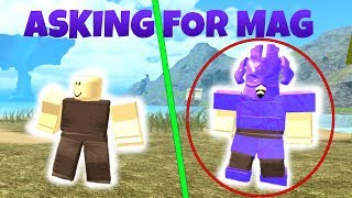 Asking for mag   Booga Booga (ROBLOX)