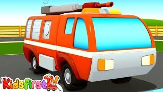 Car School #3. Car cartoons & truck cartoon. Kid trucks and fire trucks for kids. Fire truck cartoon