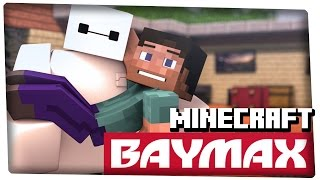 Baymax in Minecraft (3D Animation) - 60fps