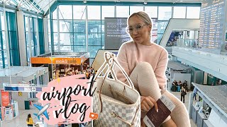COME TO THE AIRPORT WITH ME | TRAVEL VLOG