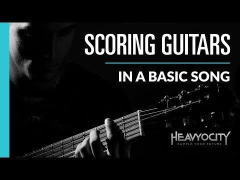Heavyocity Scoring Guitars - Using In A Basic Song