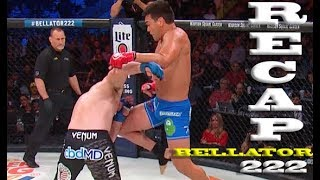 Bellator 222 Recap: Rory MacDonald Defends & Machida Lands Vicious Knee to Sonnen