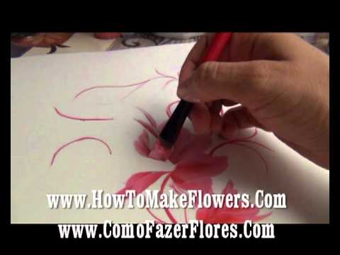 64 COMO HACER FLORES COM Es un conjunto de cursos clases pintura a la hora que quieras