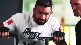 "Emilio ""The Honeybadger"" Urrutia training for One FC: Heroes of Honour"