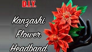 Download D.I.Y. New Petal | Kanzashi Flower Headband | MyInDulzens 3Gp Mp4