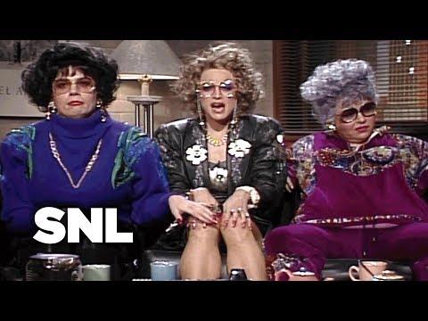 Coffee Talk Liz Rosenberg and Barbara Streisand SNL