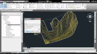 How to create surface from polylines in Civil 3D.mp4