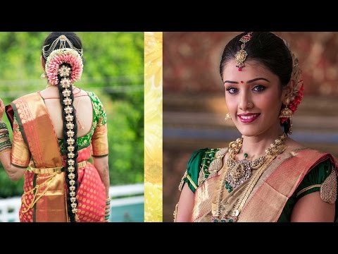 Xxx Mp4 South Indian Bridal Makeup Hairstyle Tutorial Step By Step Traditional Bridal Makeup For Wedding 3gp Sex