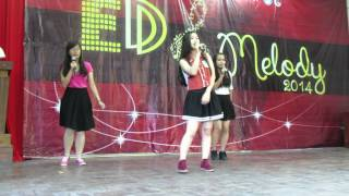 (ED Melody 2014 | Audition) LIVE WHILE WE'RE YOUNG