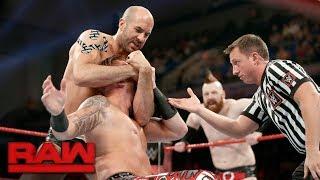 Heath Slater & Rhyno vs. Cesaro & Sheamus: Raw, June 5, 2017