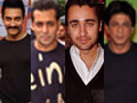 Imran Khan's tribute to Aamir, Salman and Shahrukh !
