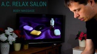 ASMR A.C. Relax Salon Body Massage [Roleplay]