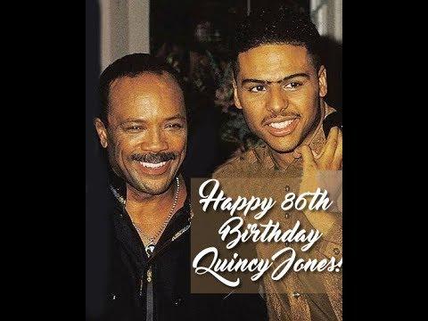 Quincy Jones 86th Birthday Tribute By Al B. Sure