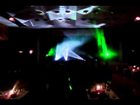 Ples Zdravotnej skoly s Dj Gabom & vladee light support 2012.