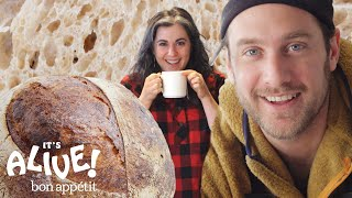 Brad and Claire Make Sourdough Bread | It