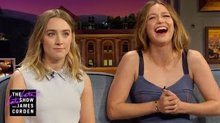 A Pronunciation Guide for Saoirse Ronan & Melissa Benoist