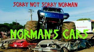 #effyounorman / crushing cars