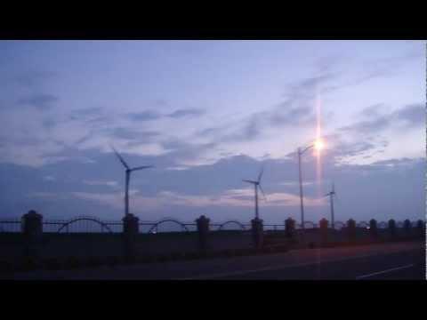 高美濕地 風力發電機 風切聲!!!