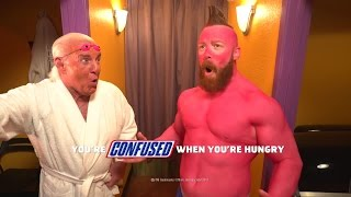 Sheamus needs a Snickers!