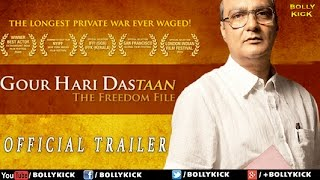 Gour Hari Dastaan Official Trailer   Hindi Movies   Hindi Trailer 2017   Bollywood Trailers 2017