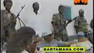 last interview of Siad Barre