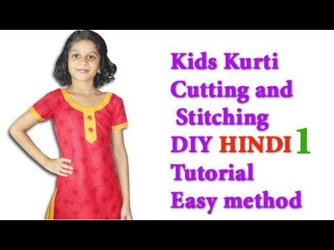 Xxx Mp4 Kids Kurti Cutting And Stitching Full Tutorial For Beginners In Hindi Kids Churidar Stitching Part 1 3gp Sex