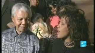 Nelson Mandela, adulé par les stars et icône des bonnes causes - 24/06/2013