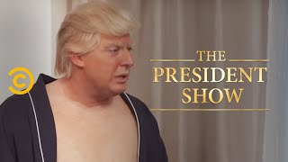 The President Talks Guns with His Constituents - The President Show