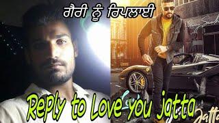love you jatta Garry sandhu reply by Pappu deol