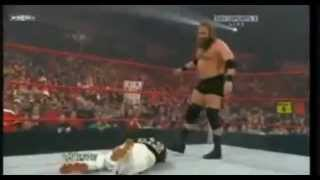 john cena & rey mysterio & The Rock & Triple H vs. Nexus Team & Kane & The Undertaker.flv
