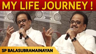 My  life journey with MGR, RAJINI, Kamal Hassan - S. P. Balasubrahmanyam speech