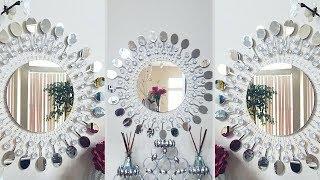 Diy Metal Clip Wall Mirror Decor| Inexpensive Wall Decorating Idea!