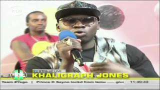 Str8up lIve: Khaligraph jones says he is in good terms with other artistes