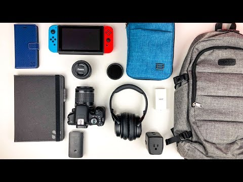 What s In My Travel Tech Bag 2018