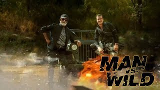 Man vs Wild : Bare Grylls Fans Of Rajinikanth, Teaser Release Of The Show