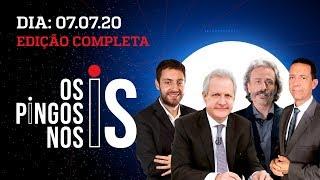 Os Pingos Nos Is - 09/07/20 - INTERFERÊNCIAS DO FACEBOOK / LIVE DE JAIR BOLSONARO / STF X LAVA JATO