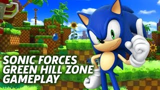 Sonic Forces: Classic Sonic - Official Green Hill Zone Gameplay