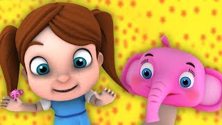 Where is Thumbkin | Kindergarten Nursery Rhymes For Toddlers | Cartoon Videos For Children