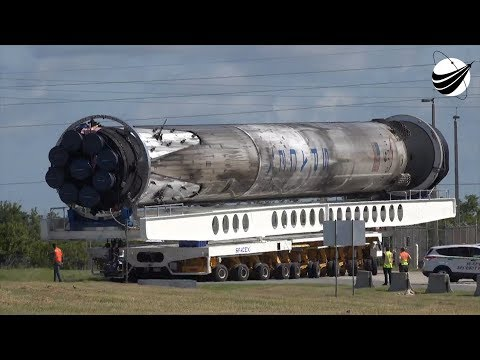 Xxx Mp4 SpaceX Historic B1046 Transport To Third Flight 08 13 2018 3gp Sex