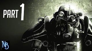 Fallout 3 Walkthrough Part 1 No Commentary
