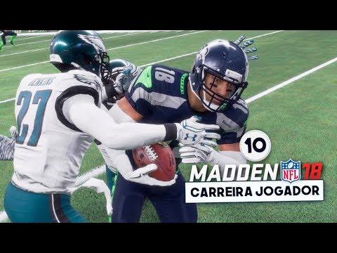 Madden NFL 18 Brasil l Carreira Jogador WR 10 ENFRENTANDO O ATUAL CAMPEÃO