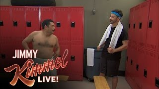 Locker Room Talk with Jimmy Kimmel and Guillermo