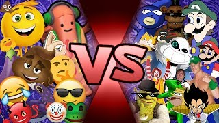 The Emoji Movie vs Meme Team Animation (Find out Who wins with new Emoji Movie abilities) CFC