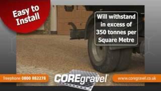 COREgravel gravel stabilisation