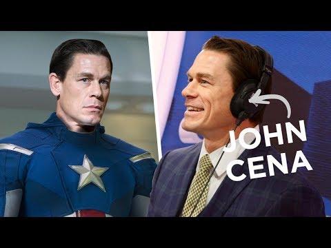 Xxx Mp4 Did John Cena Just Confirm He 39 S Captain America FULL INTERVIEW 3gp Sex