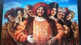 #wpgfringe 2016 Til Death: the Six Wives of Henry VIII Review