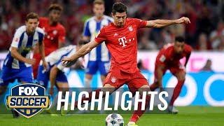Bayern Munich vs. Hertha BSC Berlin | 2019 Bundesliga Highlights